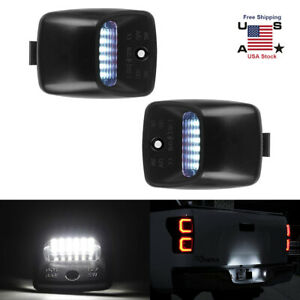 Isincer Led Smd License Plate Light Lamps For 2005 2015 Toyota Tacoma Tundra