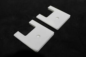 65 66 67 68 69 70 Cadillac Power Bench Seat Track Carpet Hold Down Cover Set New
