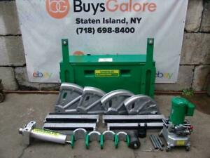 Greenlee 881 Emt Imc Rigid Pipe Bender 2 1 2 To 4 Inch With 960 Pump Works Great
