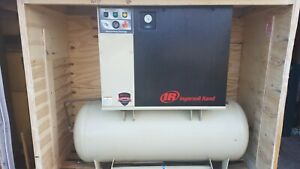 Ingersoll Rand 15hp Up6 15ctas Rotary Screw Air Compressor W Integrated Dryer