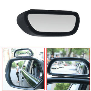 2 Universal Blind Spot Mirror Wide Angle Rear View Car Side Mirror Adjustable