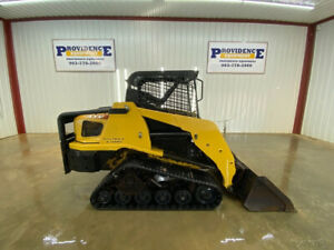 Asv Rc50 Orops Track Skid Steer Loader With Manual Quick Attach