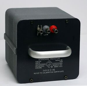 GR (General Radio GenRad IET) 1482-E Standard Inductor 1 mH 1482E $450.00