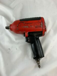 Snap on Tools Mg725 1 2 Drive Super Duty Pneumatic Impact Wrench Red