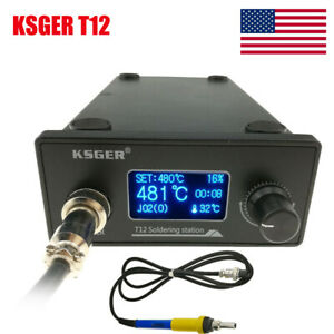 Ksger T12 V2 01 Soldering Station Diy Kits Solder Electric Tool Welding Iron Tip