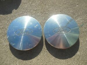 2 Ford Windstar Wheel Center Caps Hubcaps Taurus 95 96 97 98 99 F58a 1a096 Kb