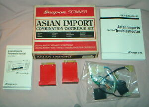 Snap on Asian Import Cartridge Kit For Mt2500 Scanner Nos Up To 1991
