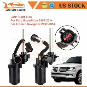 Pair Power Running Board Motor For Lincoln Navigator Ford Expedition 2007 2014