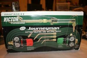 Victor Journeyman 0384 2036 Professional Acetylene Welding Outfit New