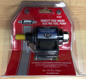 Mr Gasket 12s Micro Electric Fuel Pump