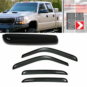 Mad 5pcs Window Sunroof Visor Guard For 02 06 Cadillac Escalade Esv Ext Smoke