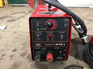 Lincoln Invertec V275 s Stick Tig Welder