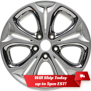 New 17 Replacement Alloy Wheel Rim For 2013 2014 2015 Hyundai Elantra Gt 70838