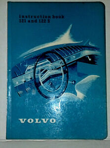 121 122s Instruction Book Owners Manual Ab Volvo Gothenburg Sweden Nos 1960