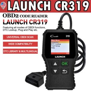 Launch Obd2 Scanner Car Fault Code Reader Diagnostic For Gm Toyota Nissan Acura