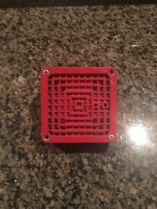 Fci Fire Alarm Horn Model Hp B4 Vibratone Red