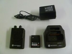 Motorola Minitor V 151 158 9 Mhz Vhf Stored Voice Fire Ems Pager W Charger Y281