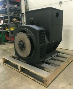Used 100kw Stamford Alternator For C100 d6r Generator Uci274d1 S n M12d172384