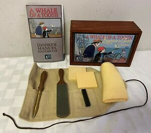 A Whale Of A Tooth Engrave A Tooth Scrimshaw Kit With Faux Tooth