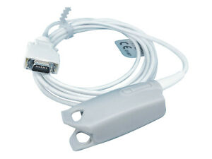 Spo2 Adult Finger Sensor Cable For Zoll E M R Series Monitor Defibrillator 9ft