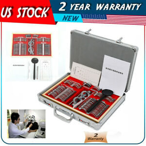 Optical Trial Lens Set Kits 104pcs Metal Rims In Aluminum Case Trial Frame Gift