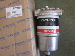 Single Delphi Diesel Fuel Water Separator Agglommerator Assembly Perkins 2656617