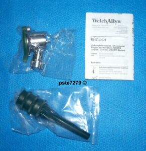 Welch Allyn 20260 Veterinary Pneumatic Otoscope With Reusable Ear Specula s New