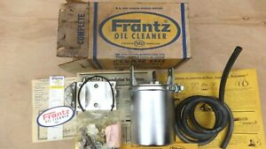 Nos Frantz Oil Cleaner Unit Original Sky 1957 1960 s Ford Chevy Buick Dodge Jeep