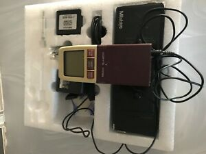 Mitutoyo Sj 201 Surftest Profilometer Surface Roughness Tester Complete