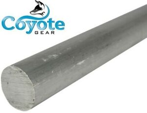 2 1 2 Diameter X 12 Long Made Usa Round Aluminum Solid Rod Stock Coyote Gear