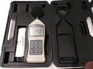 Fieldmaster Digital Sound Level Meter Model 83759