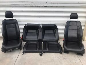 2015 Ford Mustang Gt 50 Anniversary Leather Seat Front Rear Seats Heat Cool 15