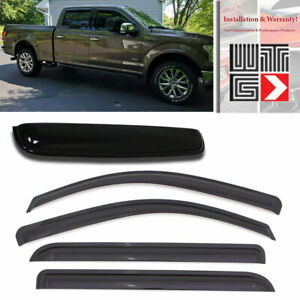 Mad 5pcs Window Sunroof Visor Guard For 15 18 Ford F 150 F150 Supercrew Crew Cab