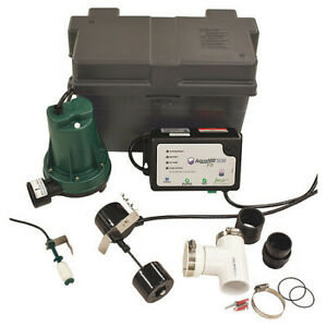 Zoeller 508 0017 Sump battery Back up System Pump Hp 1 3