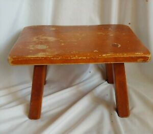 Cushman Colonial Creation Maple Foot Stool 9038 Bennington Vt