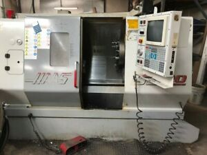 Haas Sl20t Cnc Lathe With Chip Auger