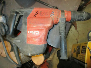 Hilti Te 60 Rotary Hammer Drill No Bits No Case Works Great Sds Max