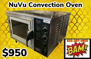 Nu vu Xo 1 Tabletop Electric Convection Oven 120v Working