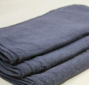 1000 Industrial Shop Rags Cleaning Towels Blue