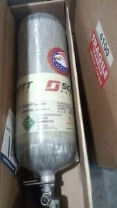 3m Scott Safety 2216 Psi Carbon Fiber Breathing Air Tank For Scba 30 Min
