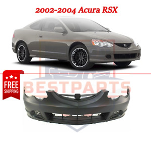 Front Primed Bumper Cover For 2002 2004 Acura Rsx