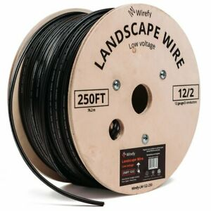 Wirefy Low Voltage Landscape Lighting Wire 2 conductor 250 Feet