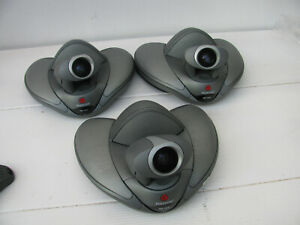 Lot Of 3 Used Polycom Vsx 7000 Ntc Business Camera 220 22298 001