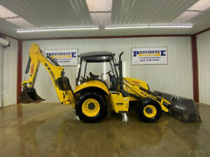 2017 New Holland B95c Backhoe Orops With 4x4 24 Bucket