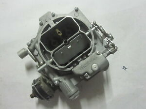 Chevy Corvette Carter Wcfb Carburetor Carb 6 1586