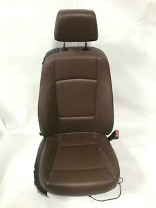 2009 Bmw 128i Convertible Right Passenger Power Front Seat Terracotta Black