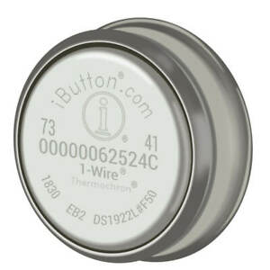 Maxim Integrated Ds1922l f5 Temperature Logger Ibutton With 8kb Datalog Memory