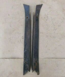 1935 1936 Ford Truck Windshield Garnish Moldings Original Pair Pickup Panel