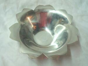 Vintage Mid Century Tiffany Co Makers 7 1 8 Sterling Silver Bowl No Reserve