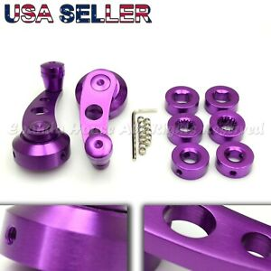 For Old Vw Aluminum Custom Look Usa Anodized Purple Window Cranks Winders Diy